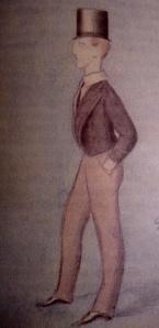 El Duque de Dorset en la escuela de Eton