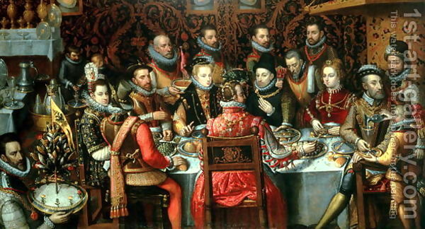 The-Banquet-Of-The-Monarchs,-C.1599