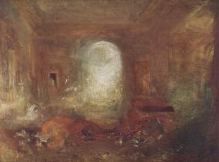 Joseph Turner. Interieur in Petworth House