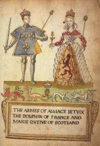 María y Francisco, Delfín de Francia, en 1558.