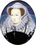 Retrato realizado por Nicholas Hilliard en 1578 ca.