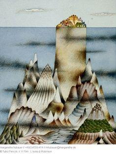 La isla de Robinson, por Tullio Pericoli